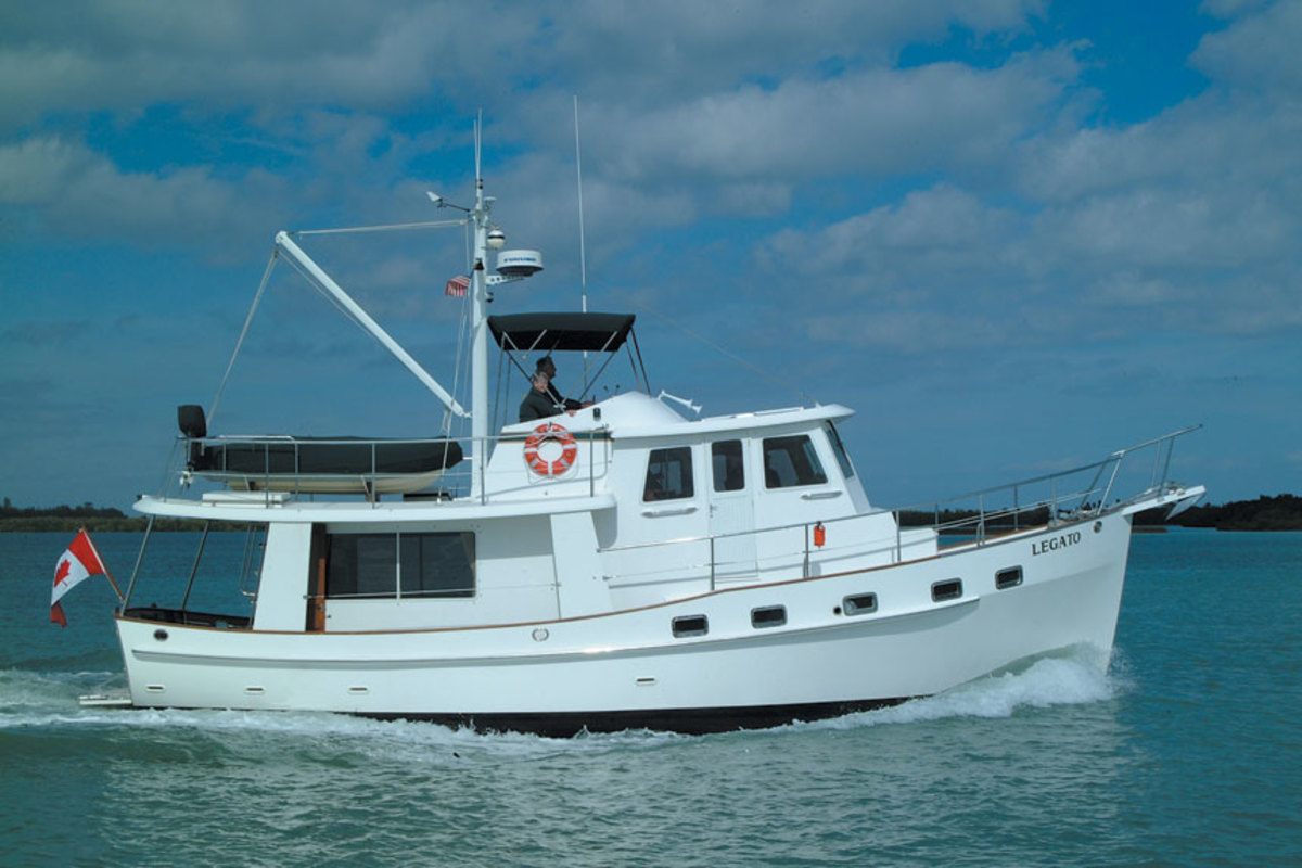 The 42 is Kadey-Krogen's best-selling model, with 206 built over 22 years.
