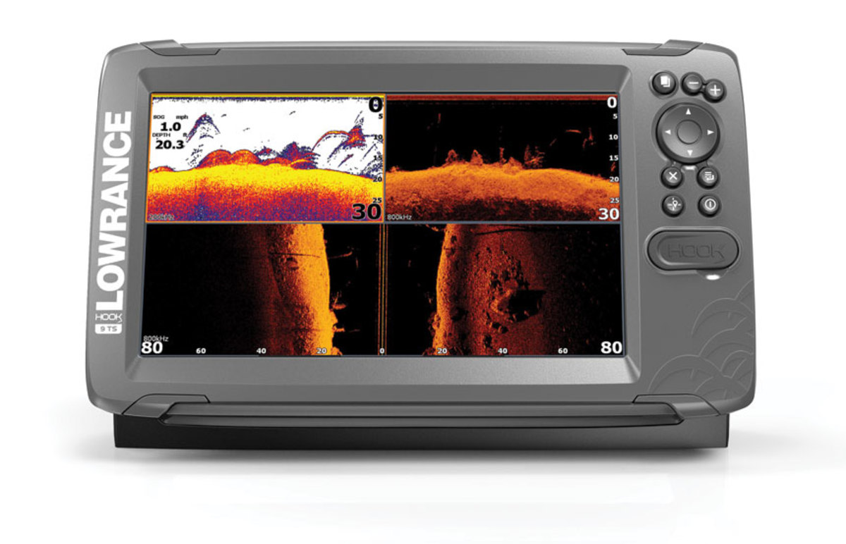 EMBARGOED-Lowrance-HOOK2-9-TripleShot-product-front-facing