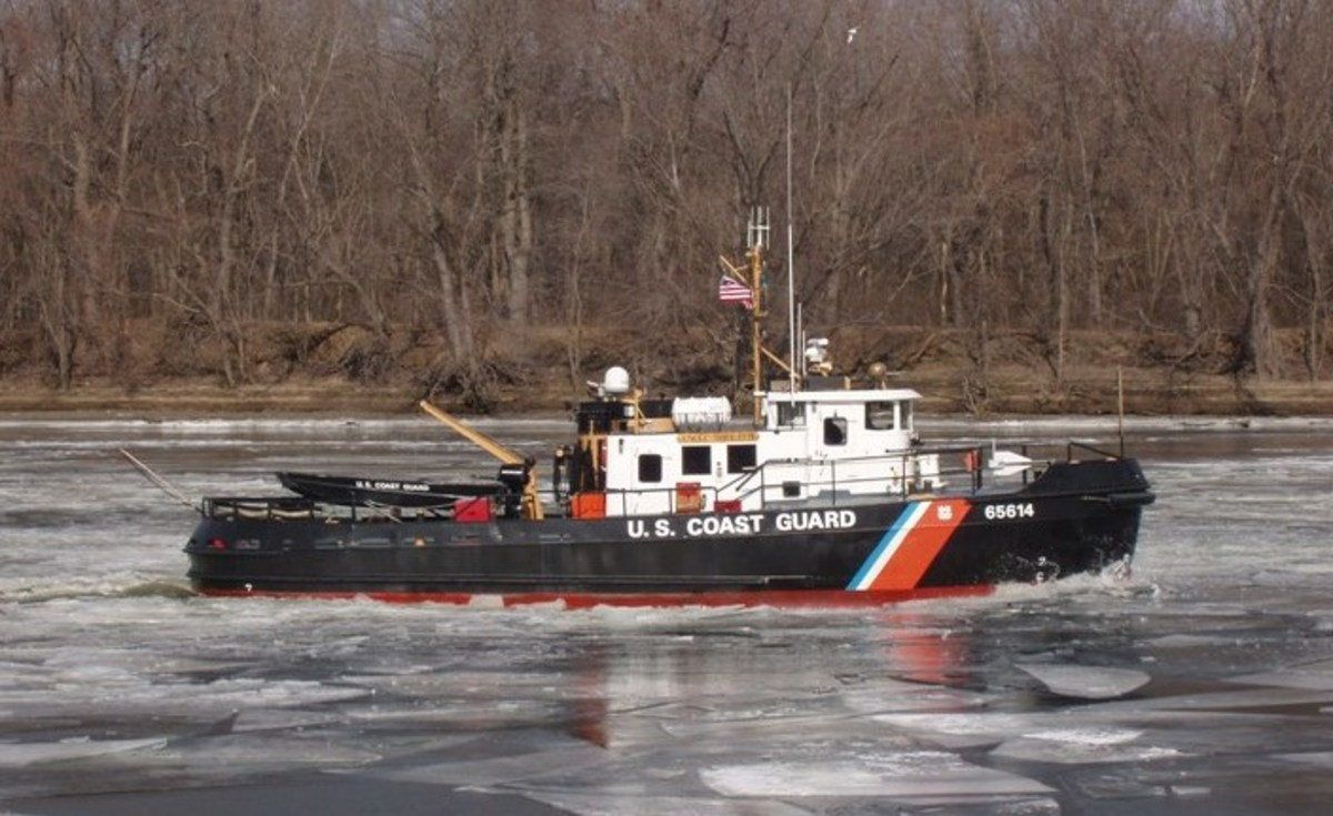 Small Coast Guard icebreakers like the USCGC Chock perform a vital service in keeping icy waterways open all winter long.
