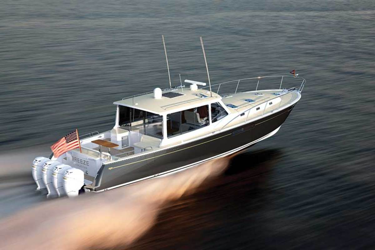 The Zurn-designed MJM 53z, the builder's largest boat to date, will launch this summer.