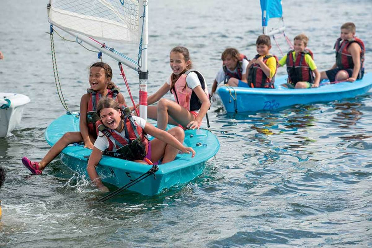The CBC gets city kids onto the water.