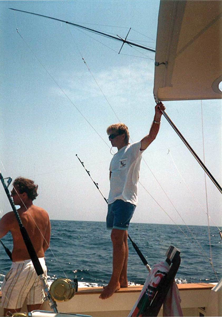 Healey's love of offshore fishing started when he was a teenager growing up in New Jersey, even though it became a point of contention between him and his father.