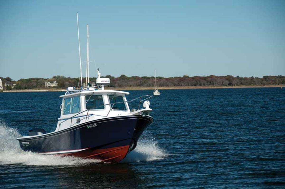 Steiger Craft boats were originally built for the waters of the Great South Bay.