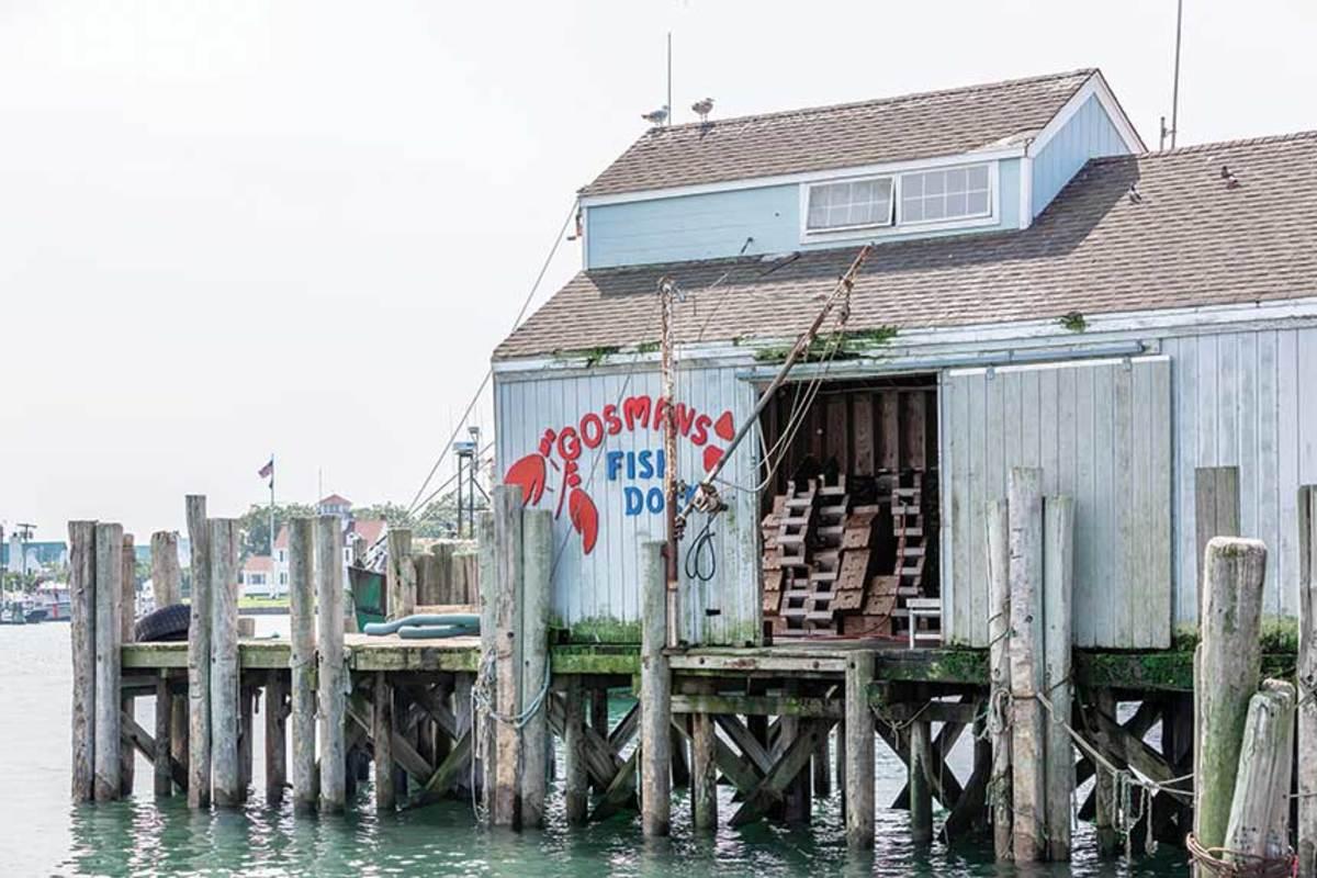 Gosman's dock in Montauk Harbor