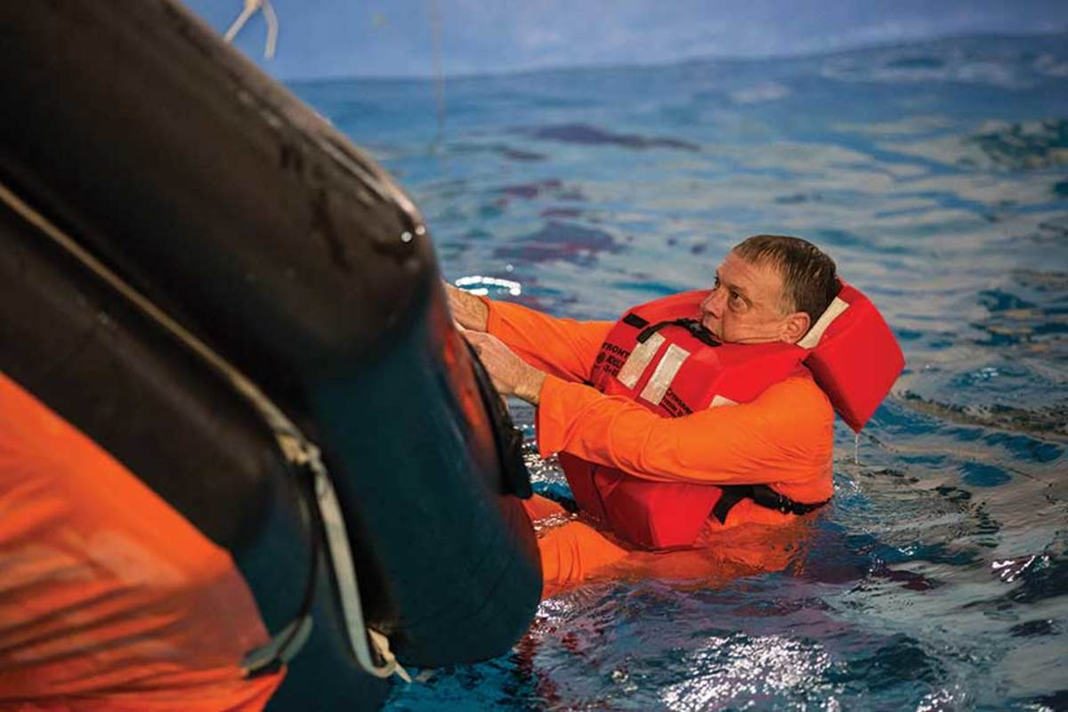 "Time in a life raft will make you understand that ""survival"" is something you want to avoid if at all possible."