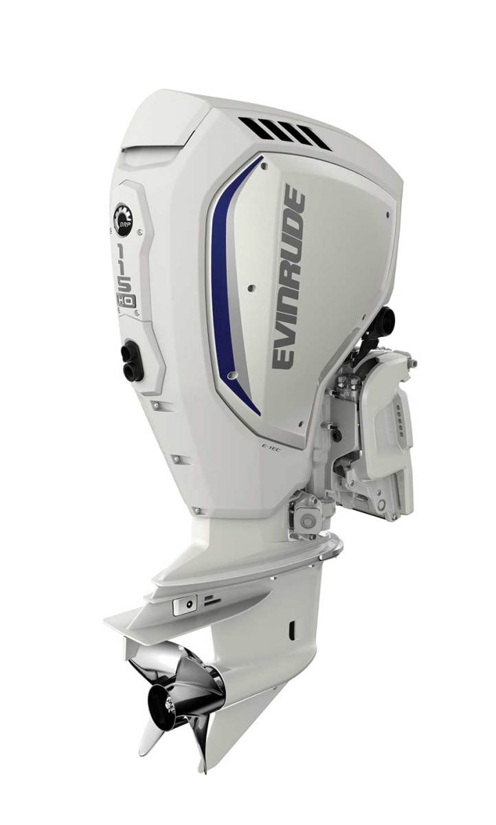 The new outboards promise outstanding mid-range torque and low emissions.