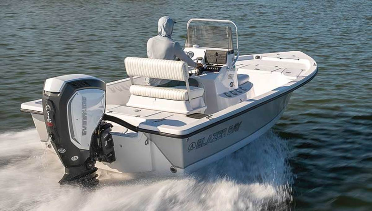 Fuel economy could be 100 percent better than a 4-stroke outboard at trolling speeds.