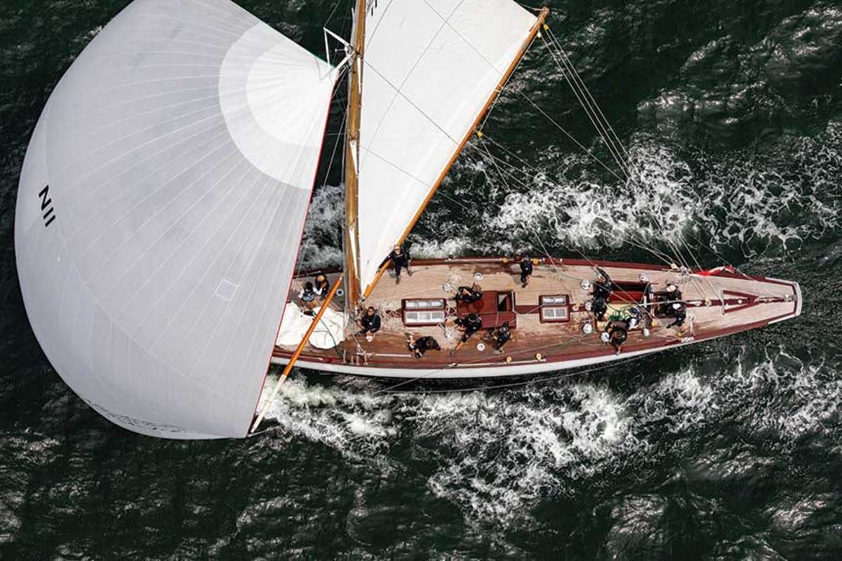 Norway's Vema III was built in 1933. She was designed by famed yacht designer Johan Anker.