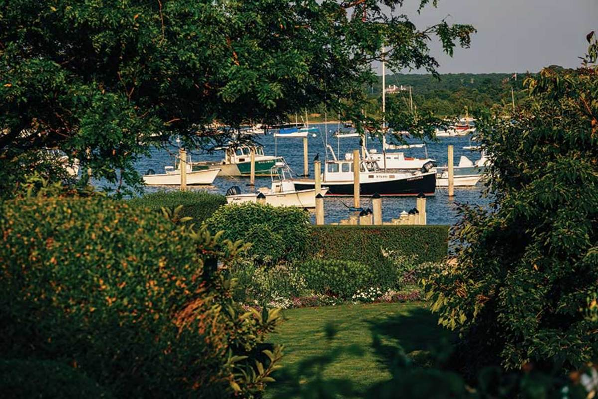 Serene scene in Edgartown.