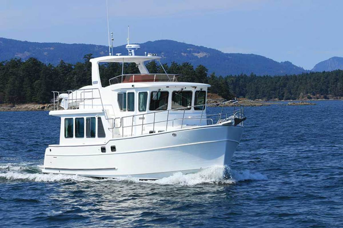 The North Pacific 45 Pilothouse.