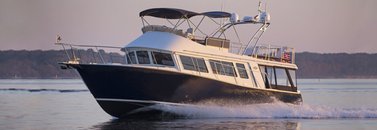 The Coastal Craft 45 is a capable cruiser built from aluminum in British Columbia, Canada.
