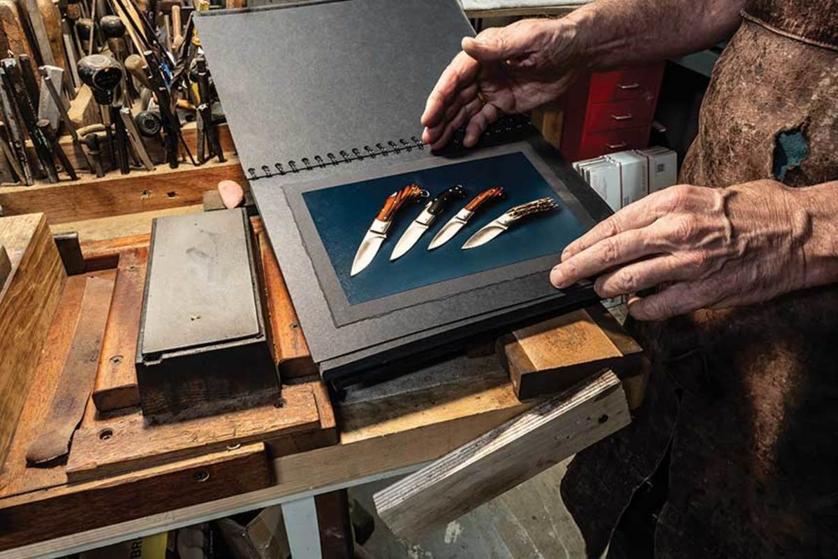 Louchard's  knife portfolio.
