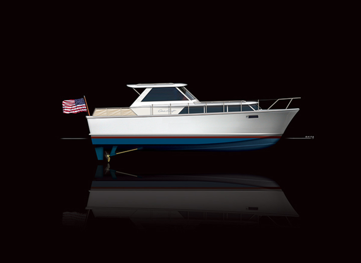 Chris Craft Commander 38