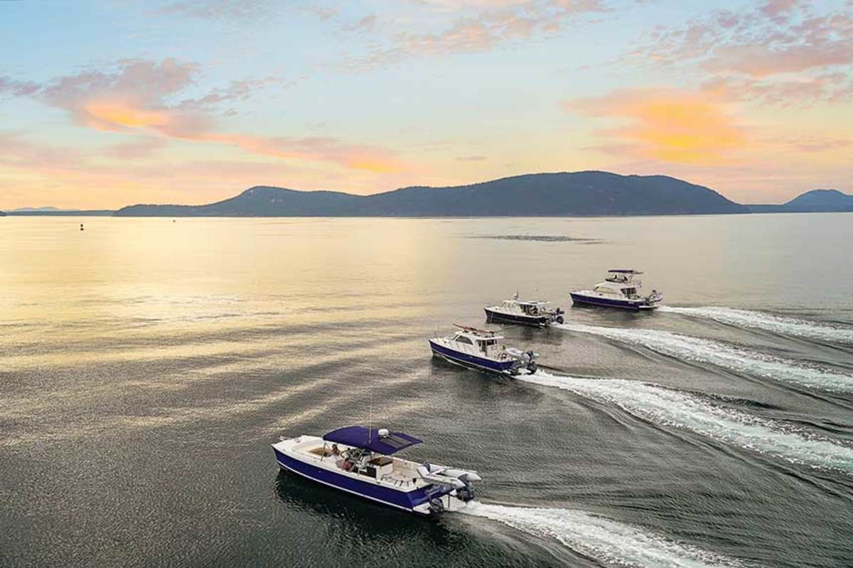 Aspen Power Catamaran's lineup includes models ranging from 28 to 40 feet LOA. A new 52-footer is on the drawing board.