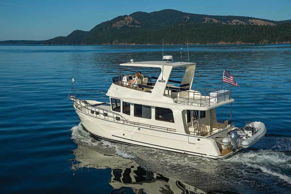 The North Pacific Yachts 44 Sedan