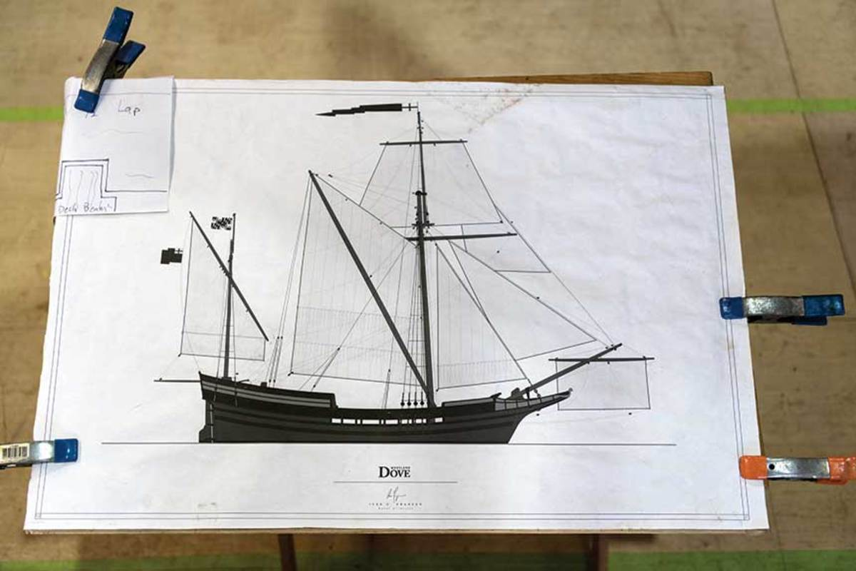 The Dove was a 17th-century trading ship that accompanied the first European settlers to what is now Maryland.
