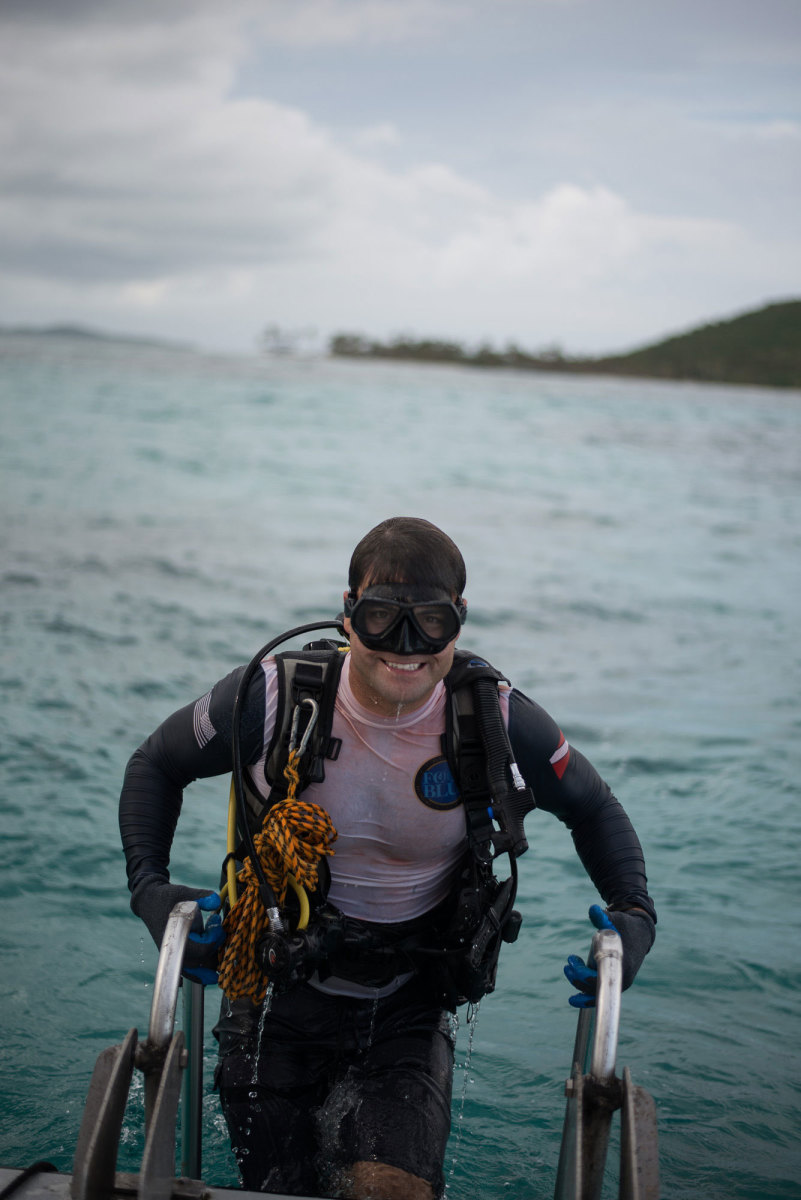These vets are some of the best divers in the world.