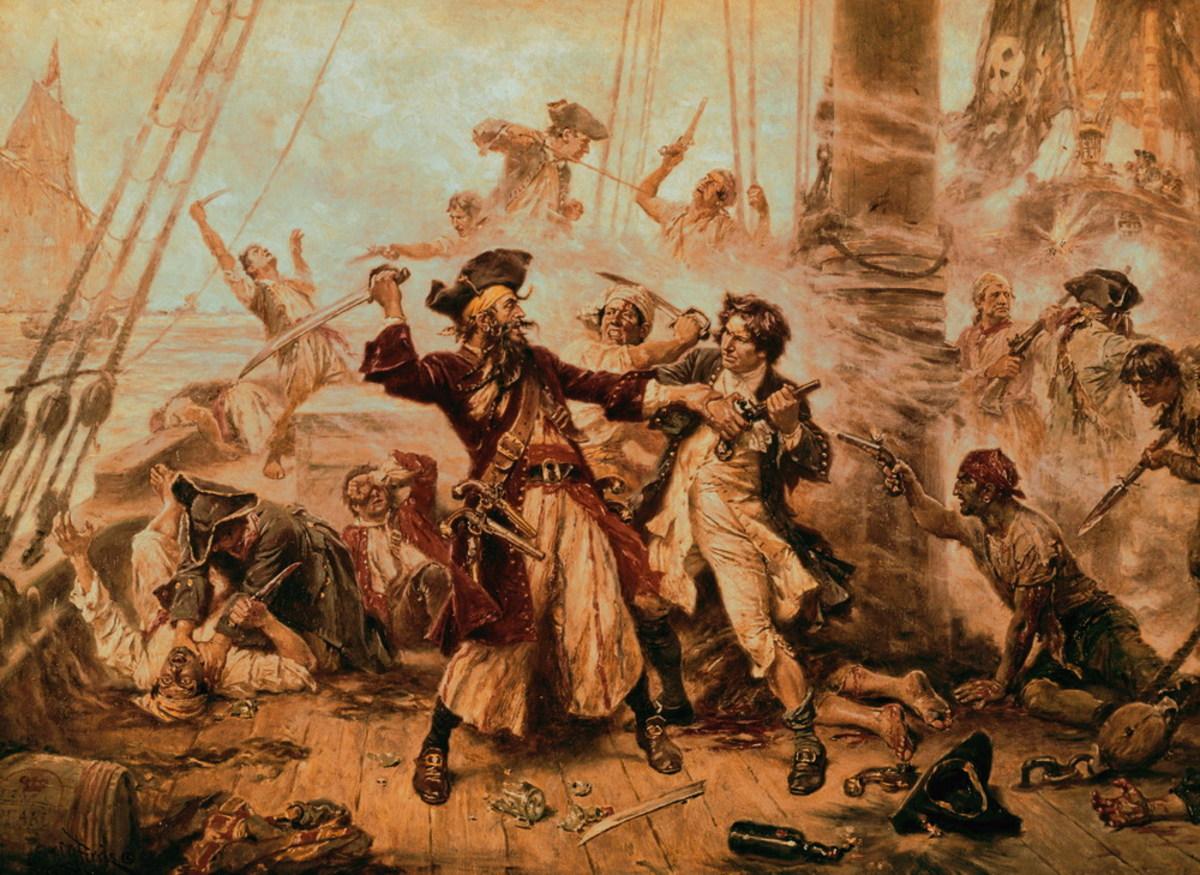 The_Capture_of_the_Pirate_Blackbeard_1718_by_Jean_Leon_Gerome_Ferris