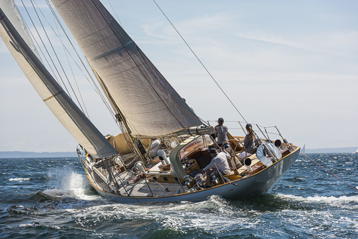Anna is a 56-foot sloop inspired by the  famous S&S design Stormy Weather.
