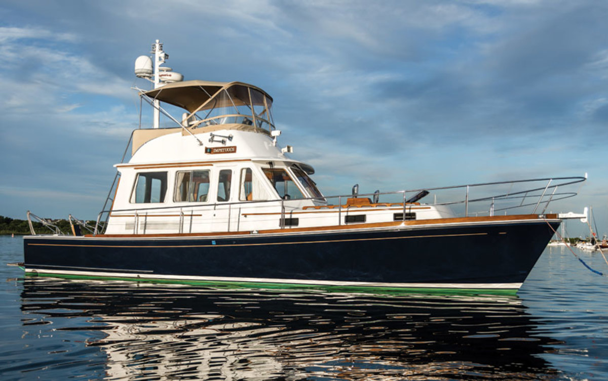 The Eastbay 43 became one of Grand Banks' most popular Downeast-style designs.