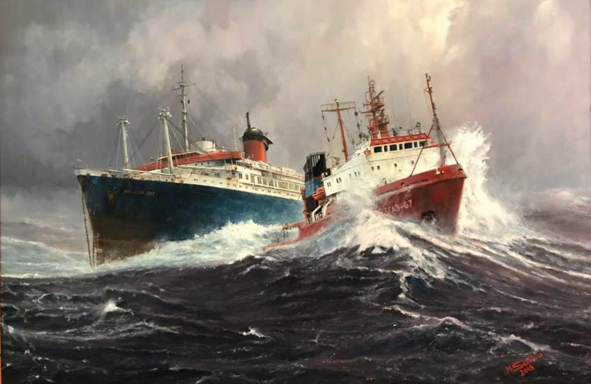 Oil Painting by Marek Sarba