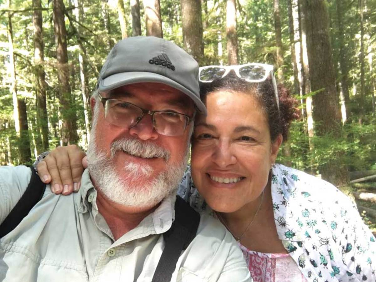 Chuck Fadely and Helene Harris