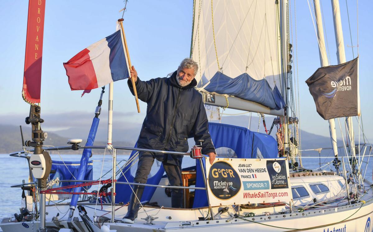 Jean-Luc Van Den Heede takes first in the 2018 Golden Globe Race