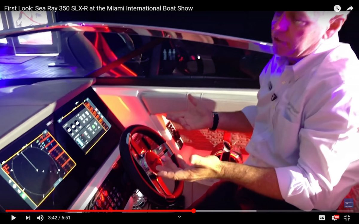 MarineMax First Look video of the Sea Ray SLX-R