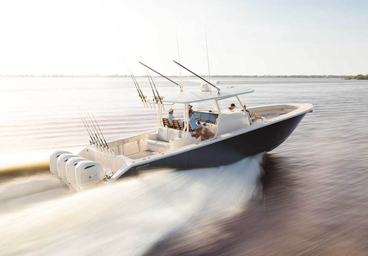 Swell Best New Center Console Boats Of 2019 Soundings Online Theyellowbook Wood Chair Design Ideas Theyellowbookinfo