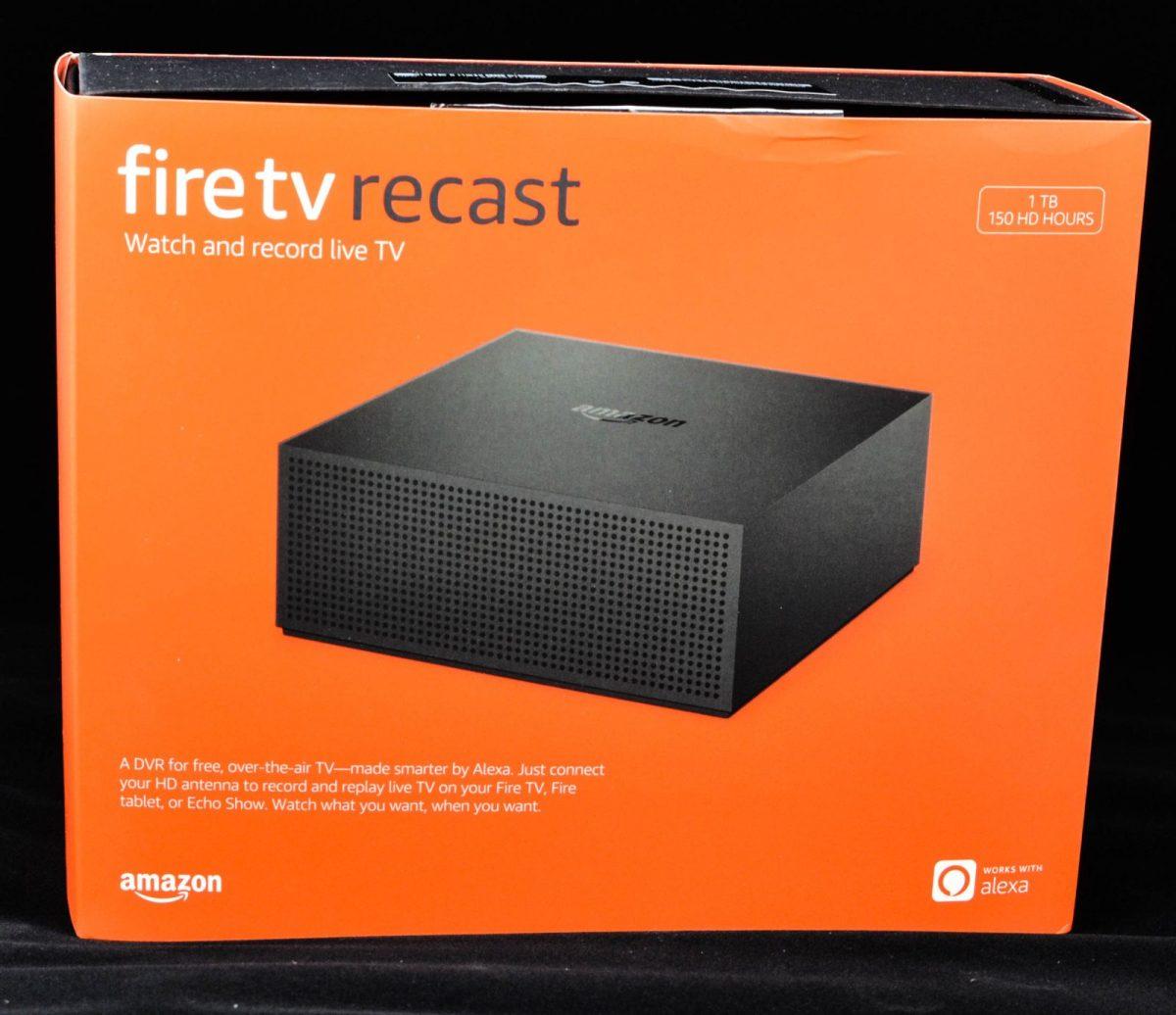 Amazon's Fire TV Recast DVR set-top box.