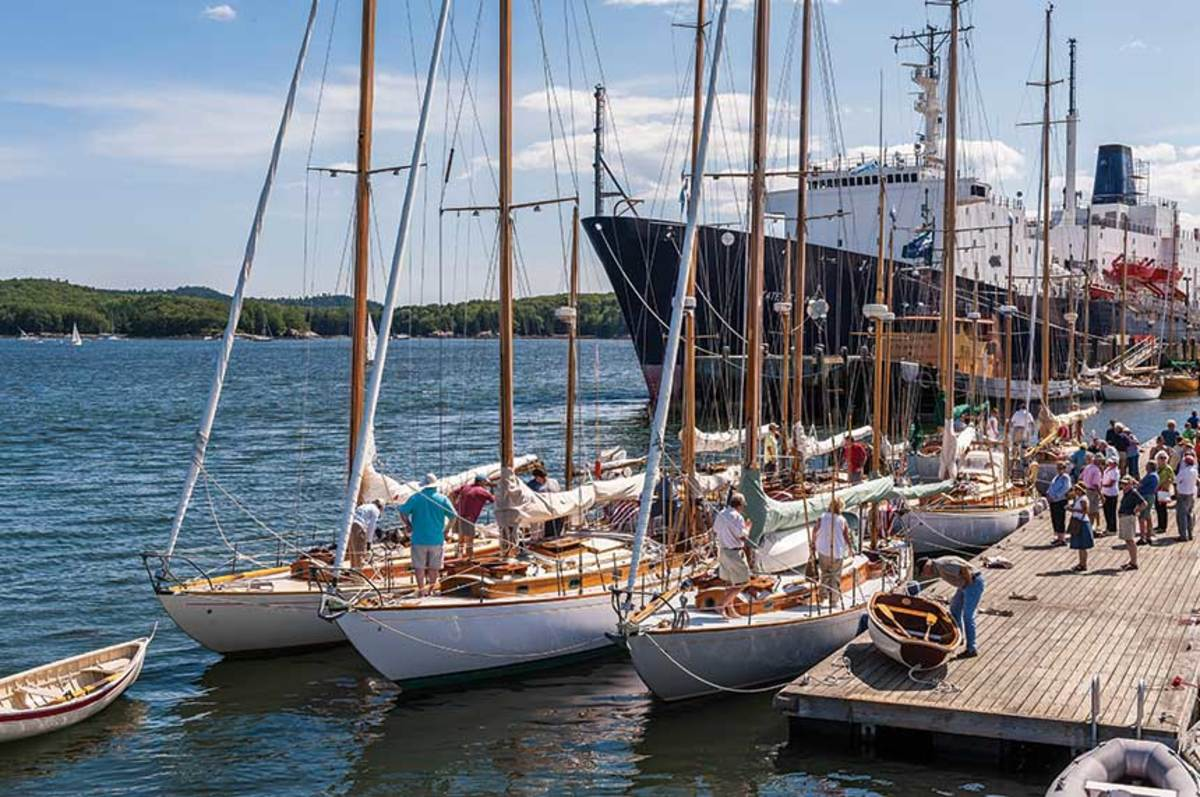 Whether it's Concordias or the training ship  State of Maine, Castine always has its fair share of salty offerings.