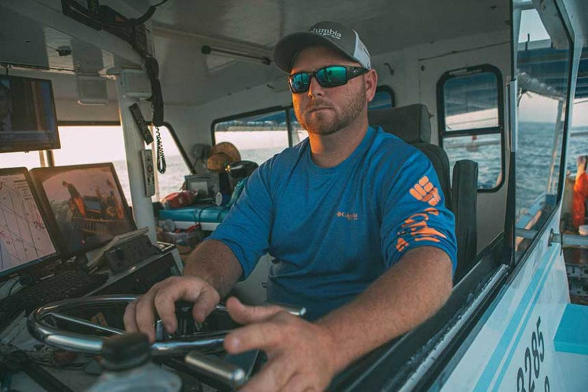 Justin Bruland has been fishing for stone crabs for some time, but he's bracing for what could be very thin years ahead.
