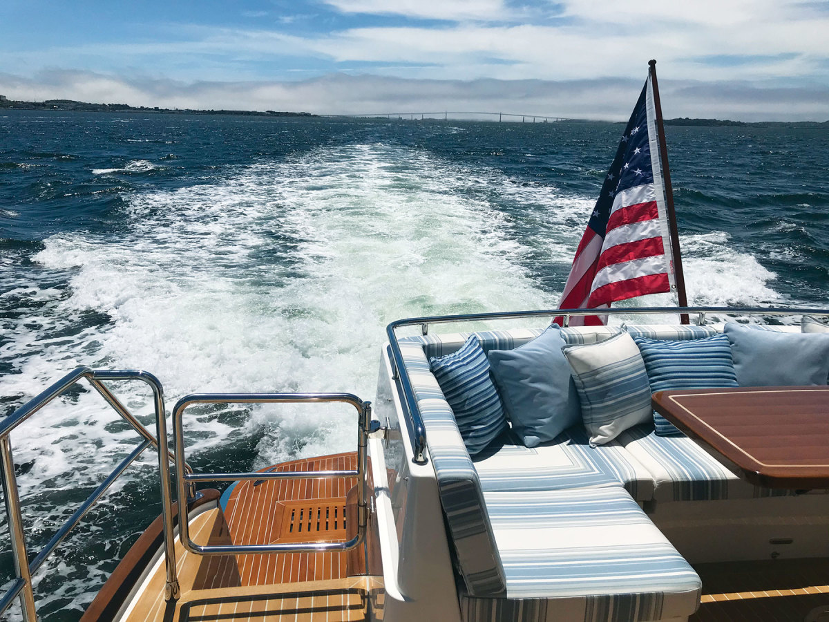 Getting out on the water is a good reminder that you can't boat virtually.