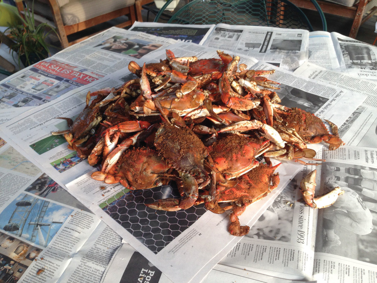 There's nothing like a mess of steamed hard crabs to bring people together and create long-lasting memories.