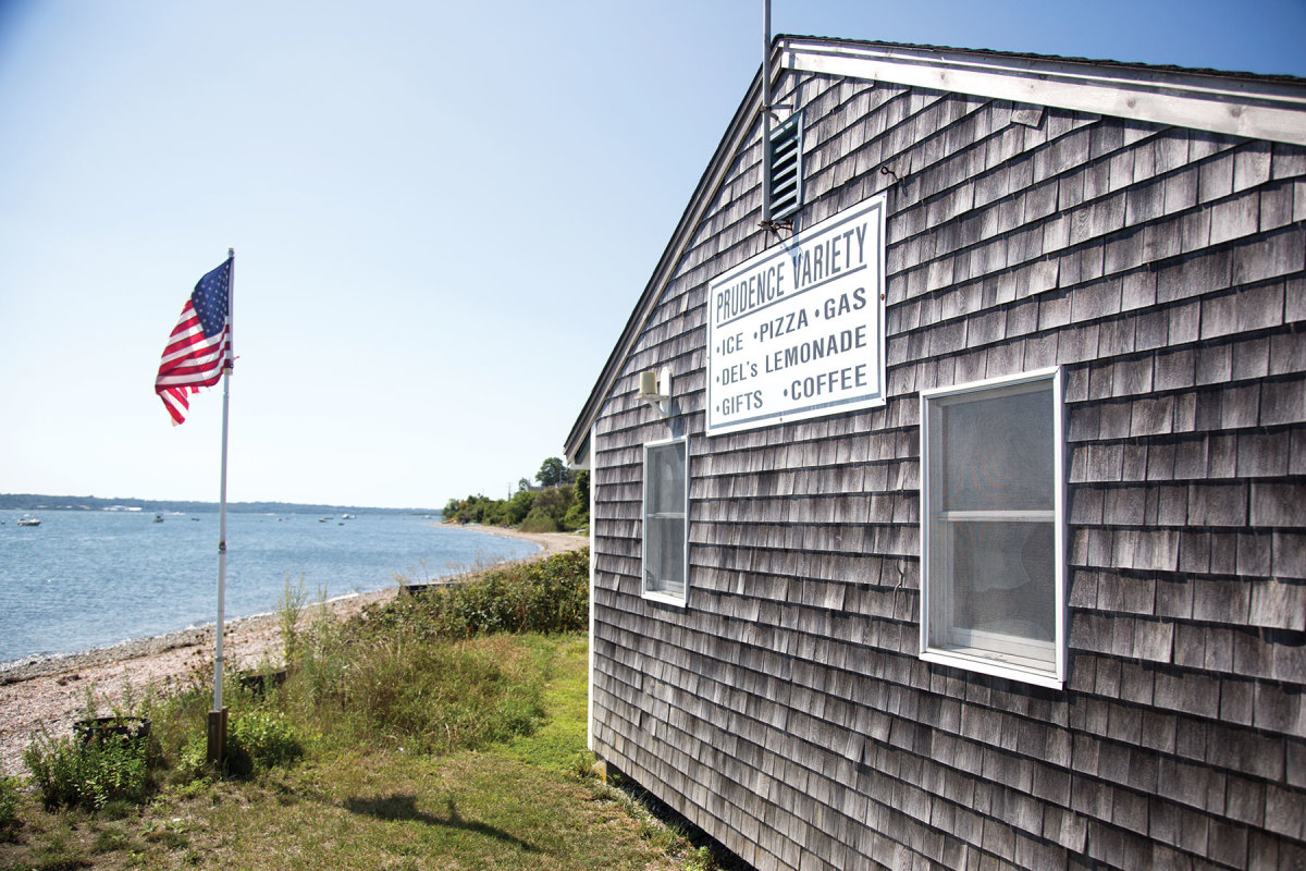 The General Store is near the ferry dock.