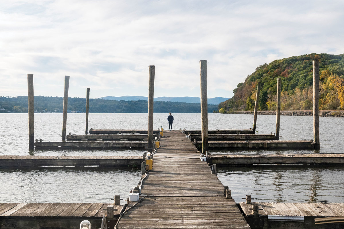 In the fall, the Lower Hudson River delivers splendor and quiet.