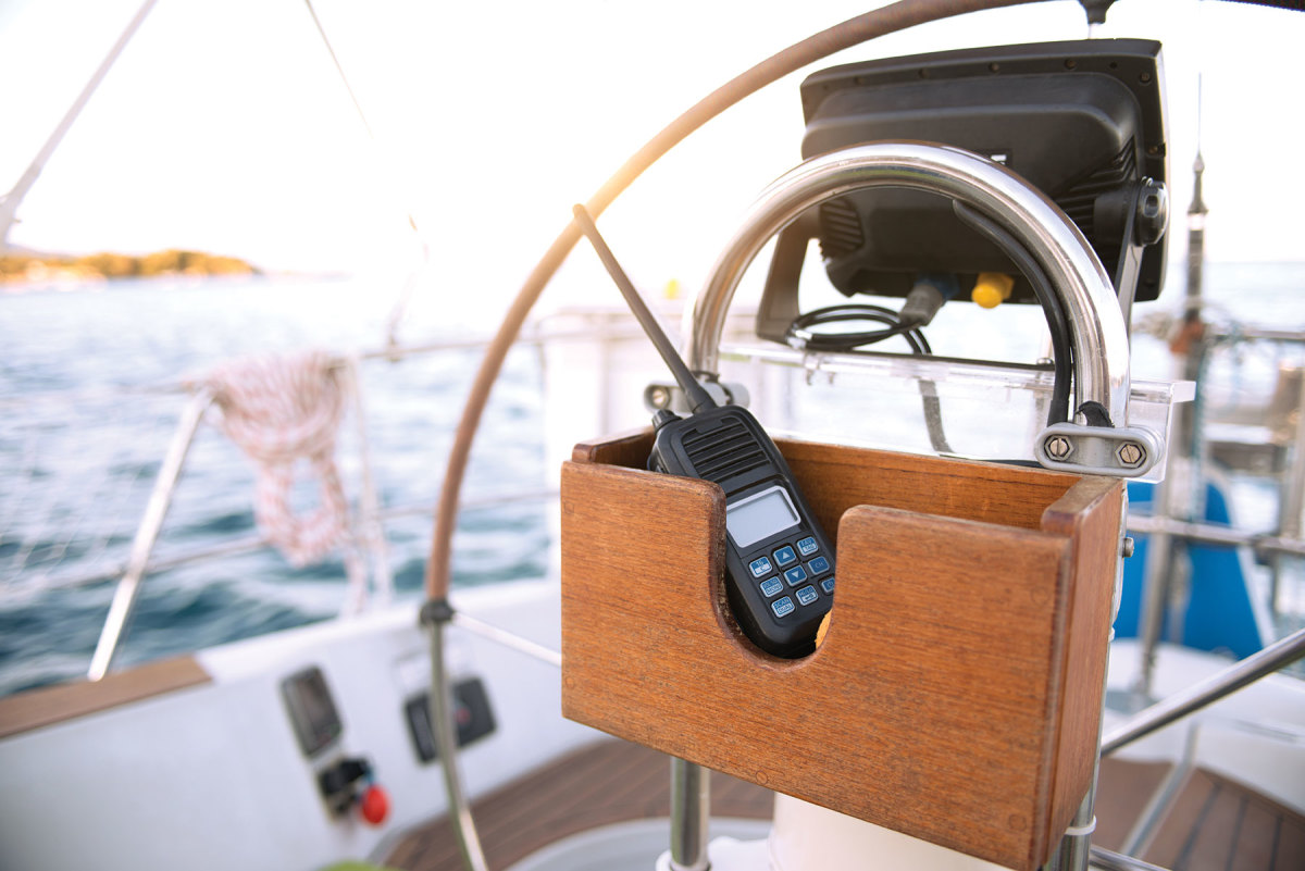If your boat's electrical system fails, a handheld VHF or GPS will instantly become your new best friend.
