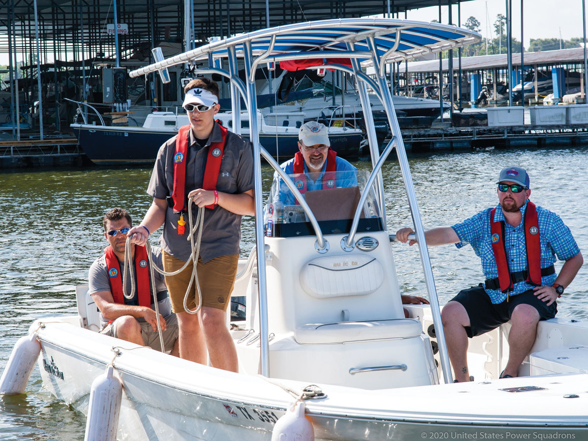 America's Boating Club offers a blended experience, combining online and in-person learning about boat handling and more.