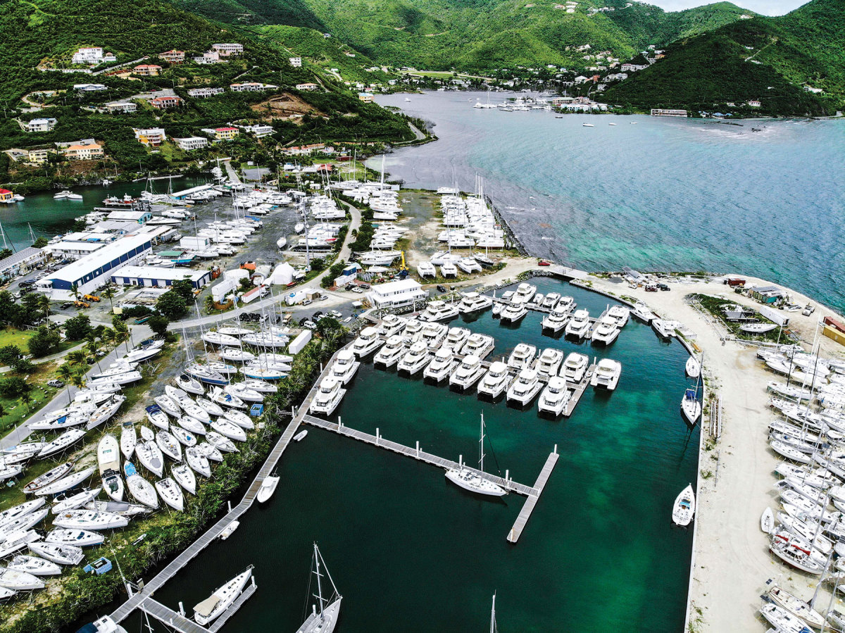 The BVI has one of the world's largest fleets of crewed and bareboat catamarans, with most of them based in Tortola.