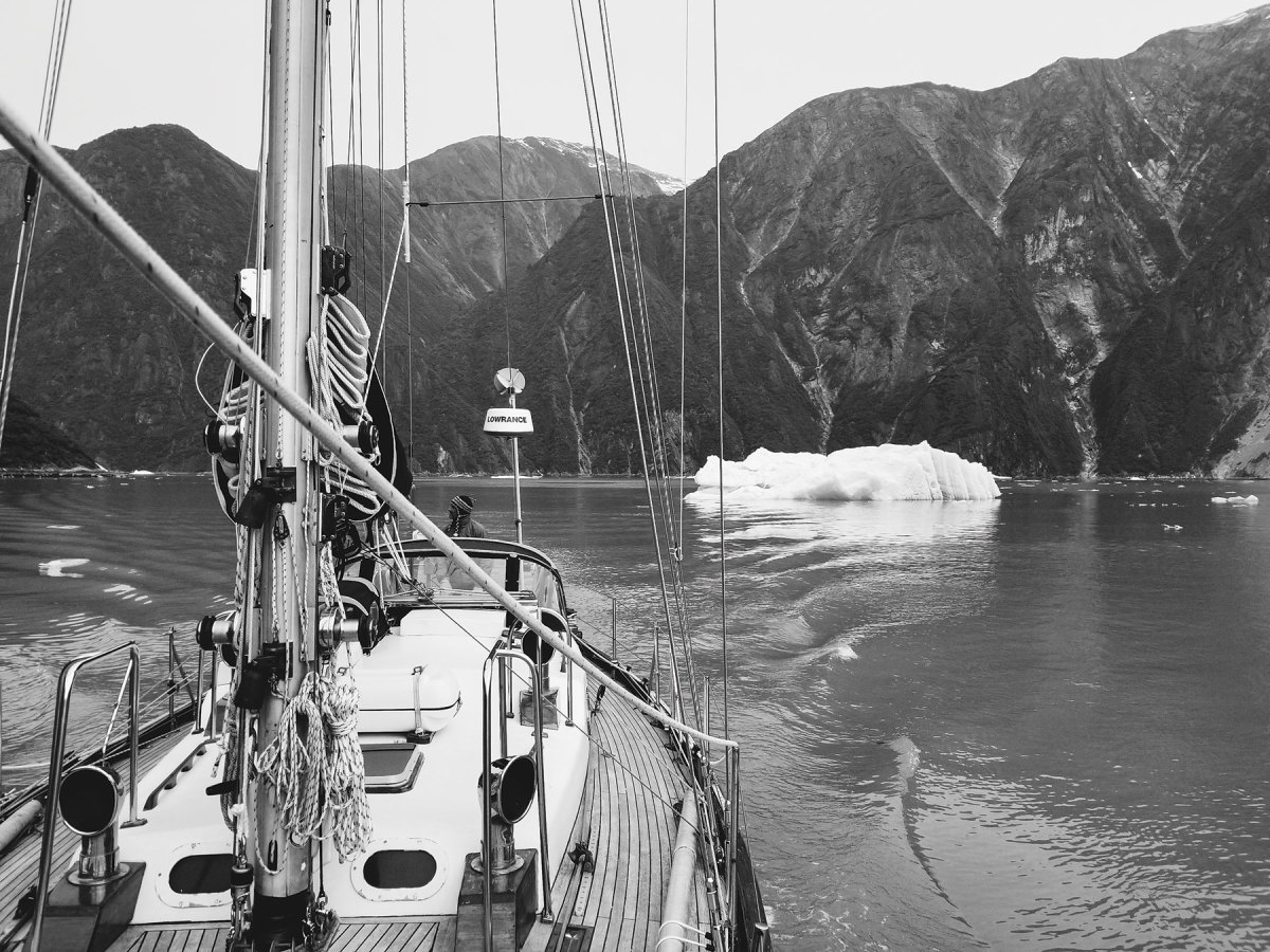 He used cruising experiences to places like Alaska's Tracy Arm to make provisioning decisions.