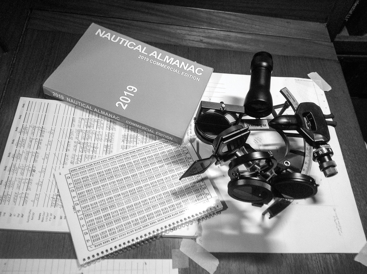 Tools for celestial navigation