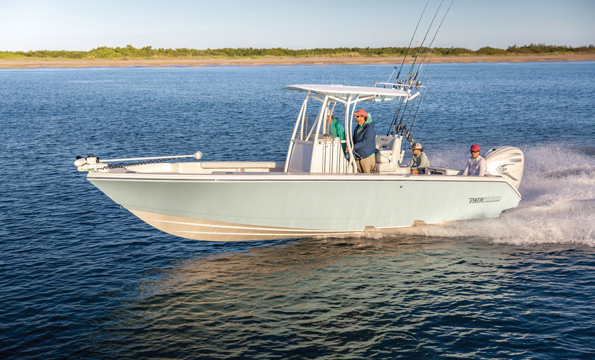 The Pathfinder 2700 Open was designed to meet the demand for ever-larger fishing boats.