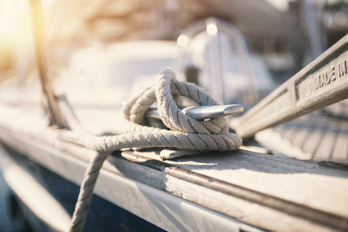 Acquiring good skills, like tying off a cleat, can take time, but new boaters need to apply themselves in the beginning.