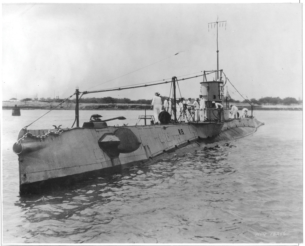 The 186-foot-long R-8 isbelieved to be the last missing American sub in diveable North Atlantic waters