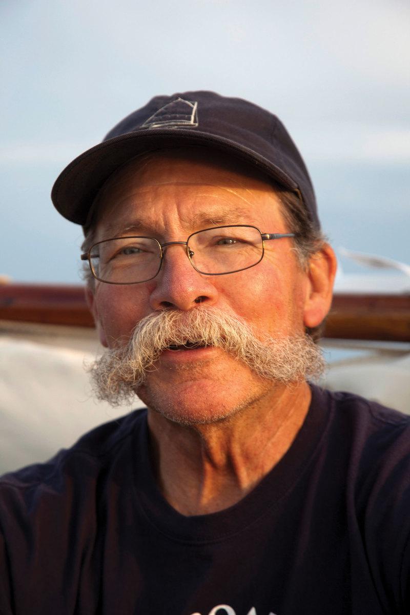Beetle Cat Boat Shop owner Bill Womack