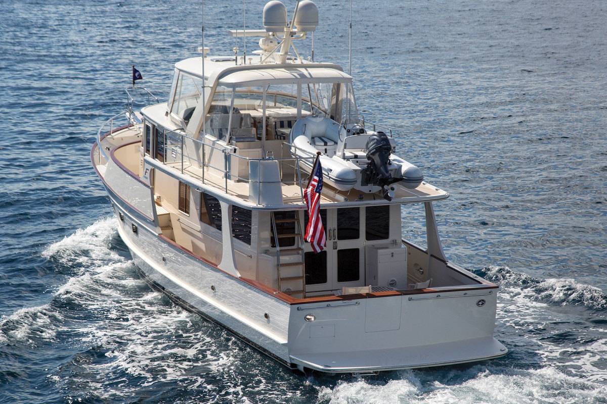 The hull is essentially unchanged from its 1985 design.