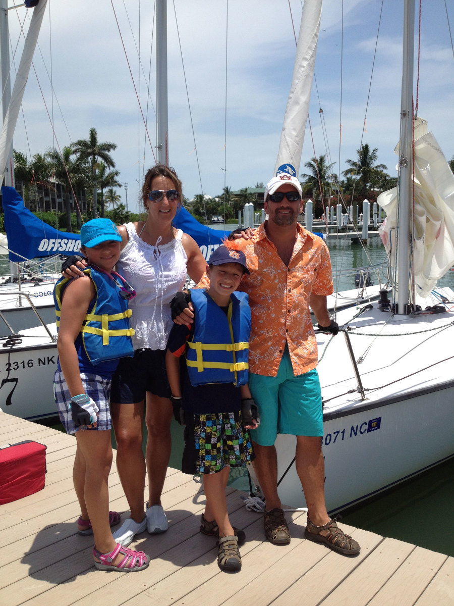 Kyle-Couture-family-on-dock-at-South-Seas---Captiva-Island-FL