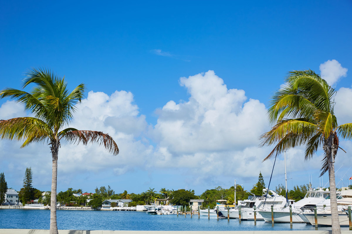 Operators of marinas like this one in the Keys are seeing heavy traffic.