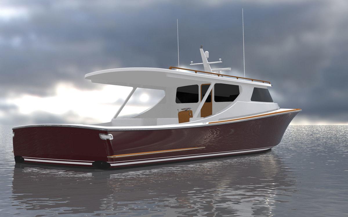 Composite Yacht 55