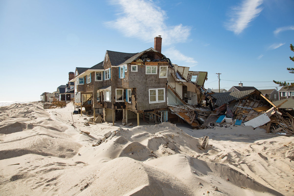 After Hurricane Sandy hit the New York City region in 2012, Congress funded a bill for more hurricane research.